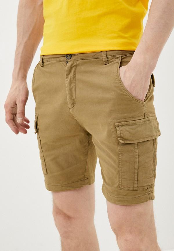 мужские повседневные шорты brave soul, бежевые