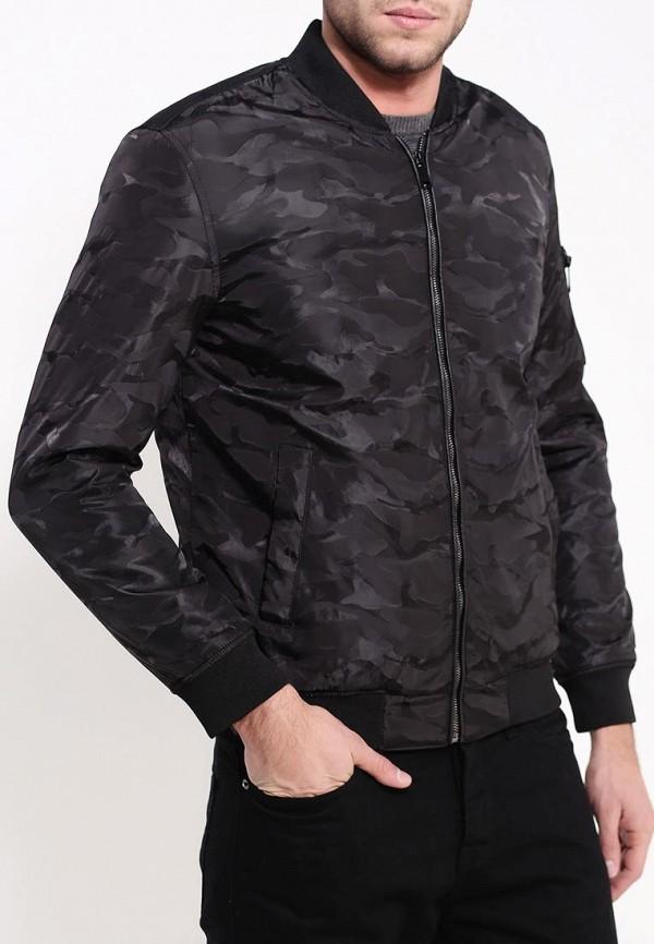 мужская куртка brave soul, черная