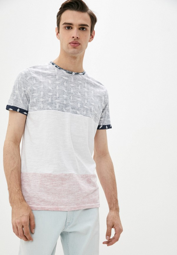 мужская футболка с коротким рукавом brave soul, разноцветная