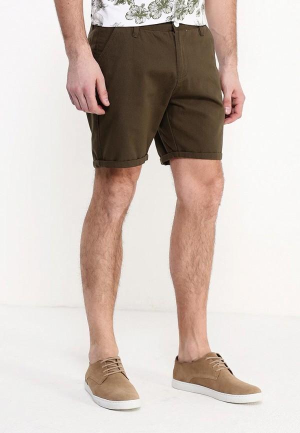 мужские повседневные шорты brave soul, хаки