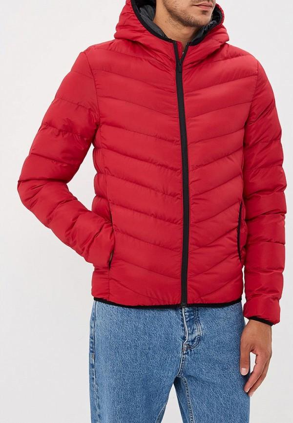 мужская куртка brave soul, красная