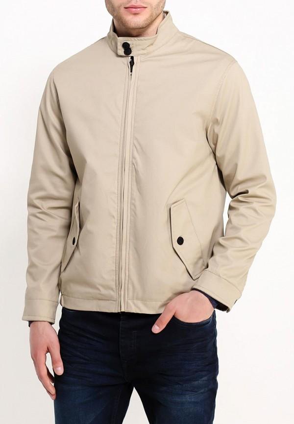 мужская куртка brave soul, бежевая