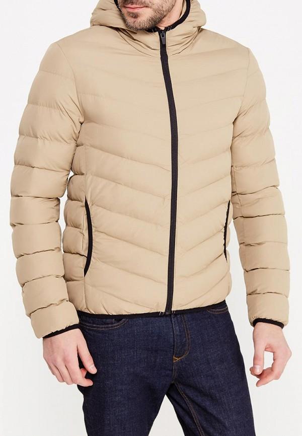 Купить Куртка утепленная Brave Soul, br019emump36, бежевый, Осень-зима 2018/2019