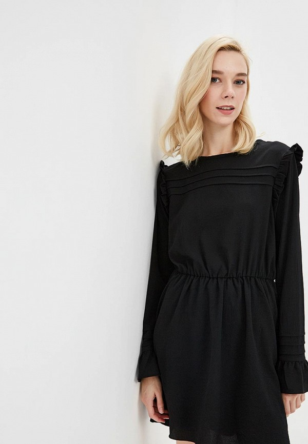 Купить Платье Brave Soul, BR019EWBSMB4, черный, Осень-зима 2018/2019