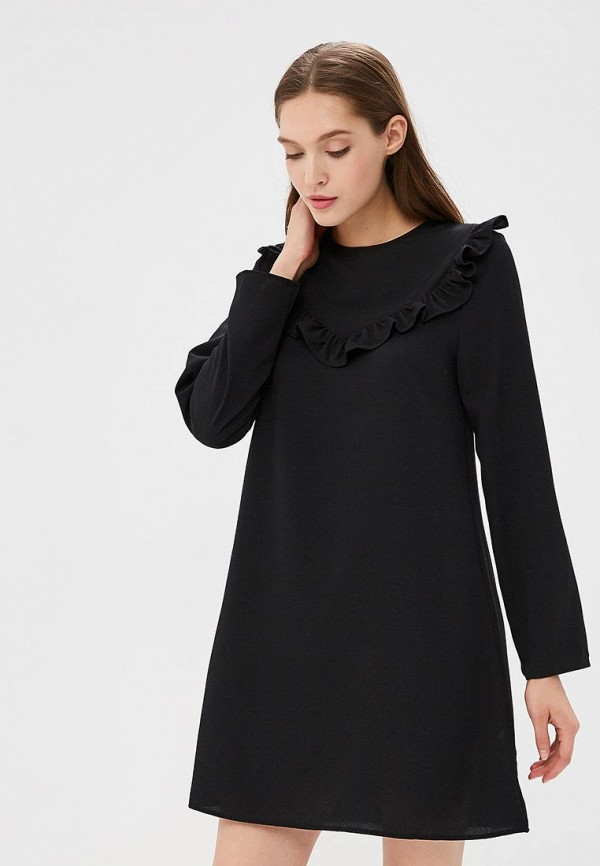 Купить Платье Brave Soul, BR019EWBSMC1, черный, Осень-зима 2018/2019