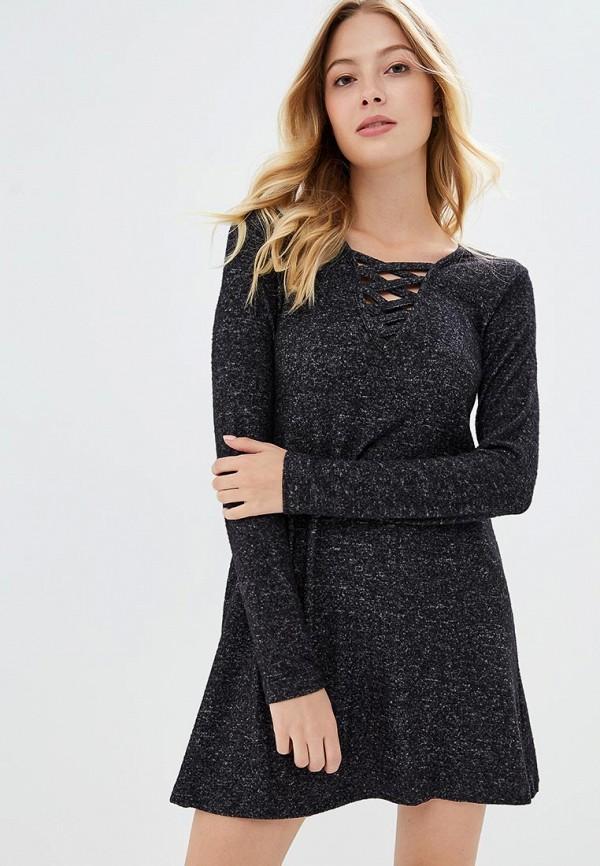 Купить Платье Brave Soul, BR019EWBSMD0, черный, Осень-зима 2018/2019