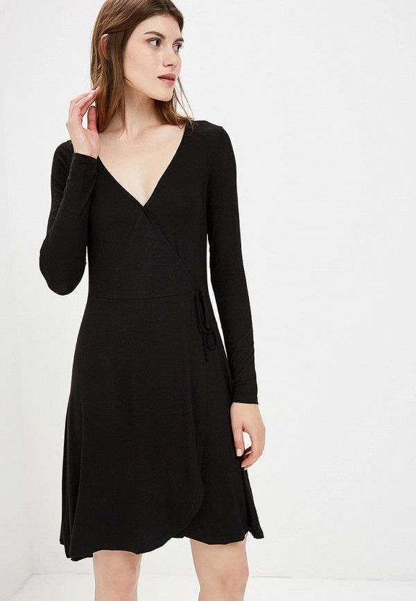 Купить Платье Brave Soul, BR019EWBSMD8, черный, Осень-зима 2018/2019