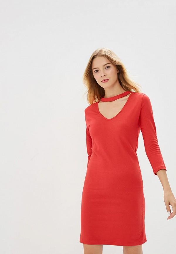 Купить Платье Brave Soul, BR019EWBSMD9, красный, Осень-зима 2018/2019