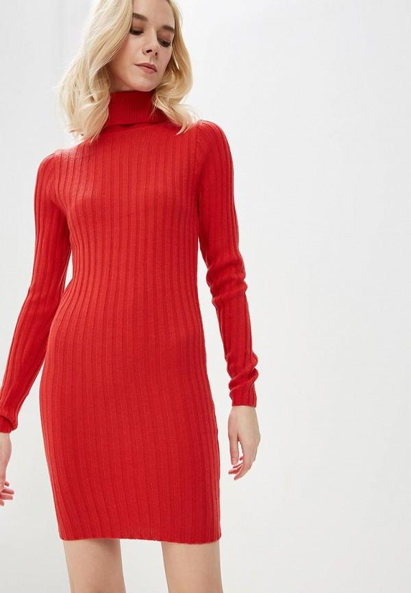 Купить Платье Brave Soul, BR019EWBSME2, красный, Осень-зима 2018/2019