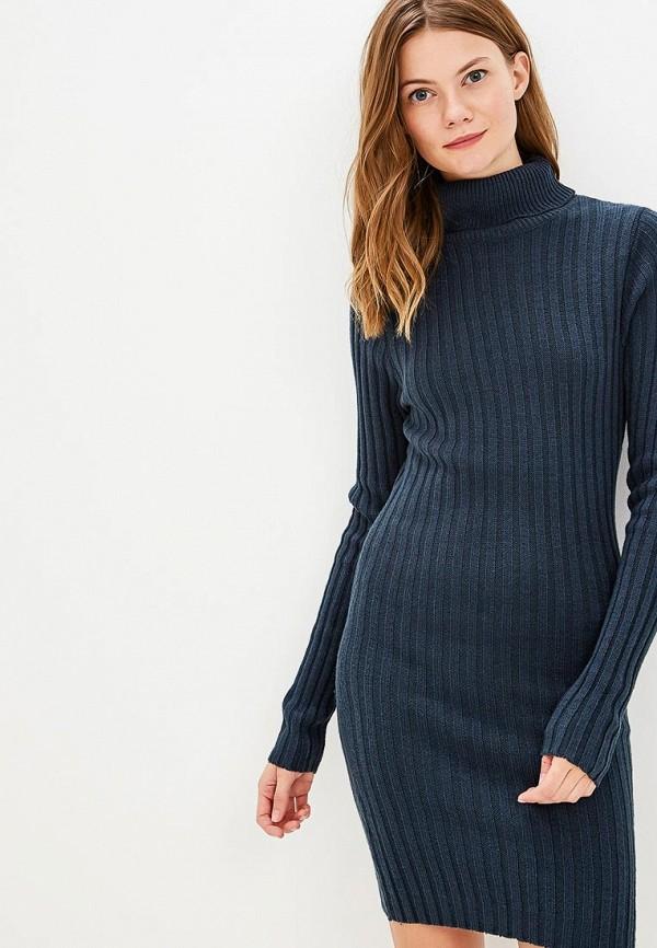 Купить Платье Brave Soul, BR019EWBSME3, синий, Осень-зима 2018/2019