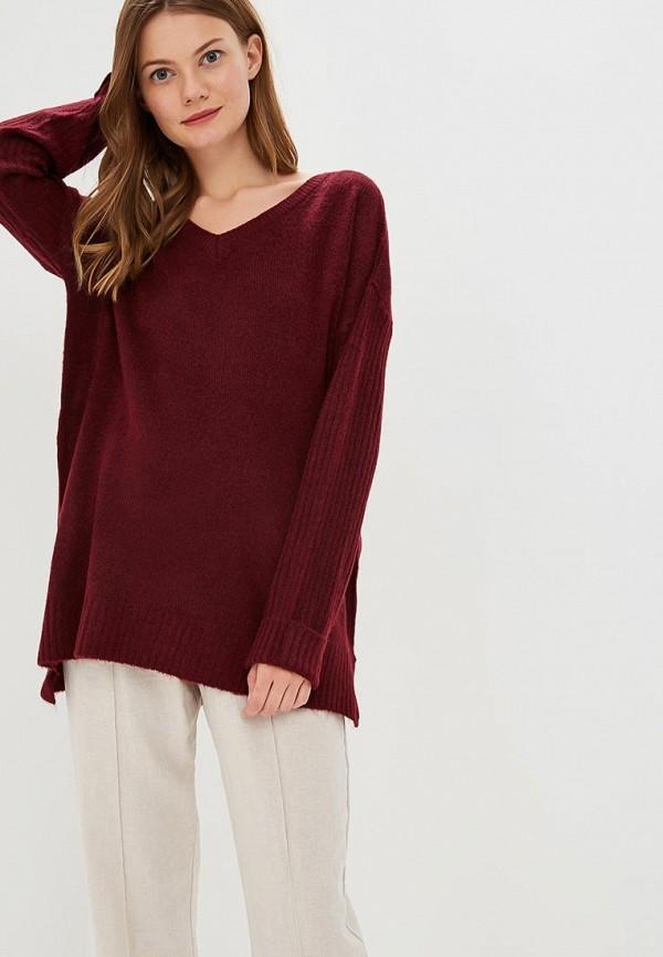 Купить Пуловер Brave Soul, BR019EWBSMF5, бордовый, Осень-зима 2018/2019