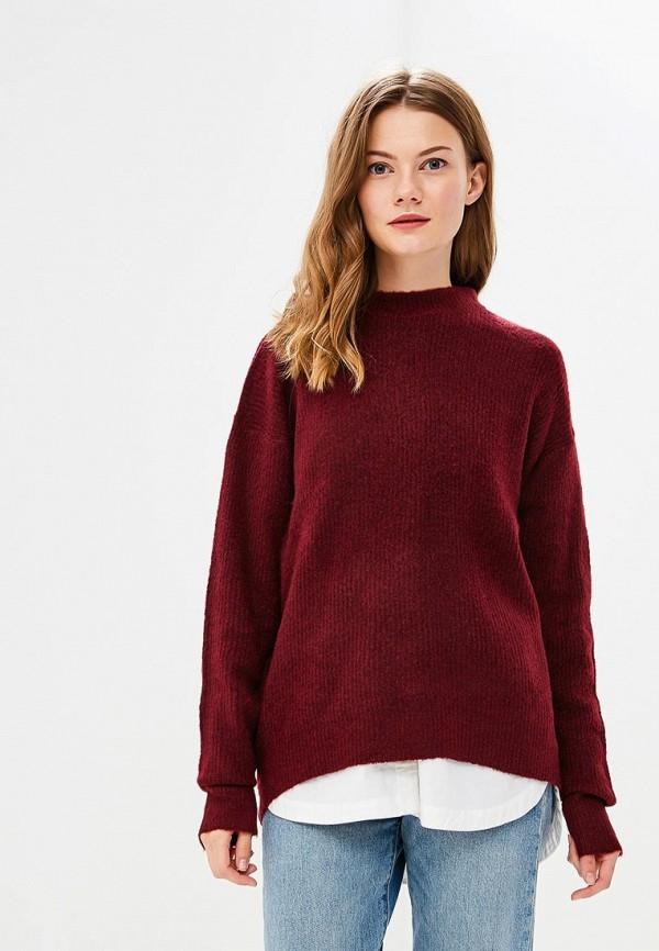 Купить Джемпер Brave Soul, BR019EWBSMG8, бордовый, Осень-зима 2018/2019