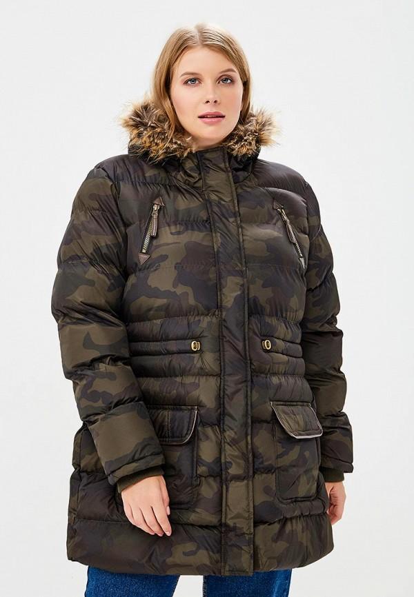 Купить Куртка утепленная Brave Soul, br019ewbsnd6, хаки, Осень-зима 2018/2019