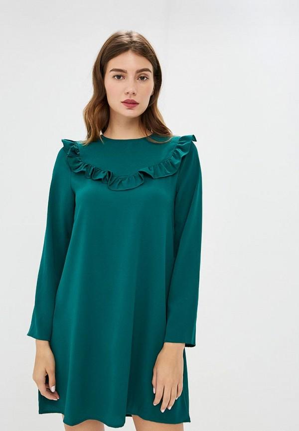 Купить Платье Brave Soul, BR019EWBSNE0, зеленый, Осень-зима 2018/2019