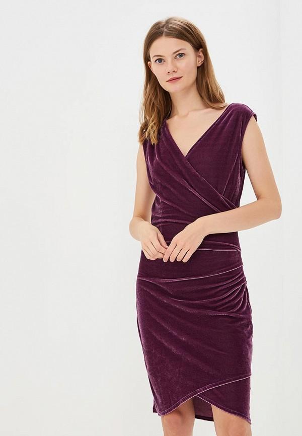 Купить Платье Brave Soul, BR019EWBSNE4, фиолетовый, Осень-зима 2018/2019