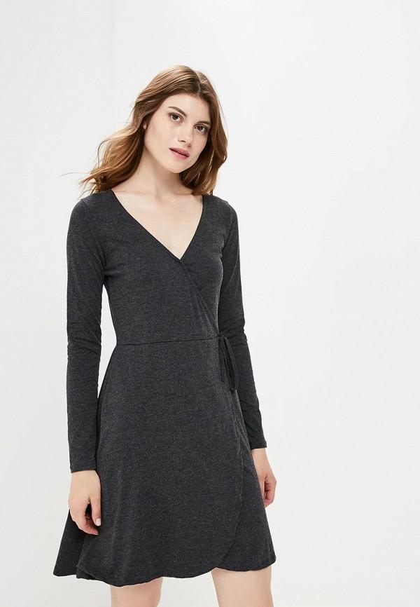 Купить Платье Brave Soul, BR019EWBSNE9, серый, Осень-зима 2018/2019