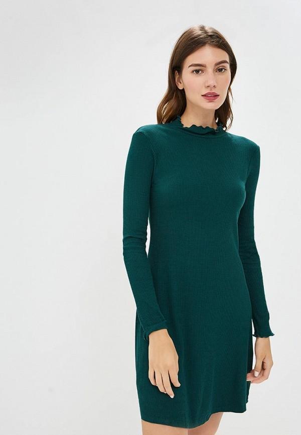 Купить Платье Brave Soul, BR019EWBSNF2, зеленый, Осень-зима 2018/2019