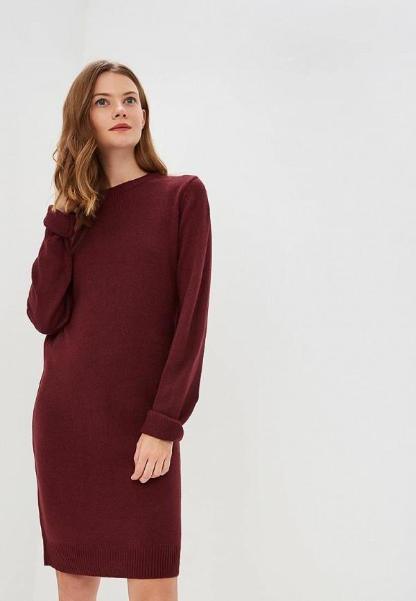 Купить Платье Brave Soul, br019ewbsnf8, бордовый, Осень-зима 2018/2019