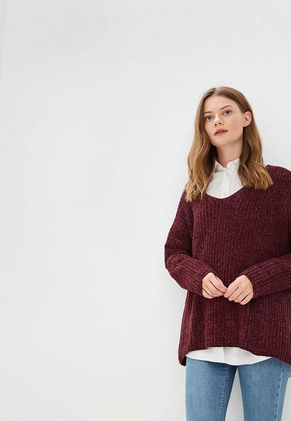 Купить Пуловер Brave Soul, BR019EWBSNK1, бордовый, Осень-зима 2018/2019