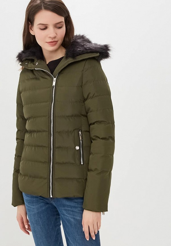 женская куртка brave soul, хаки