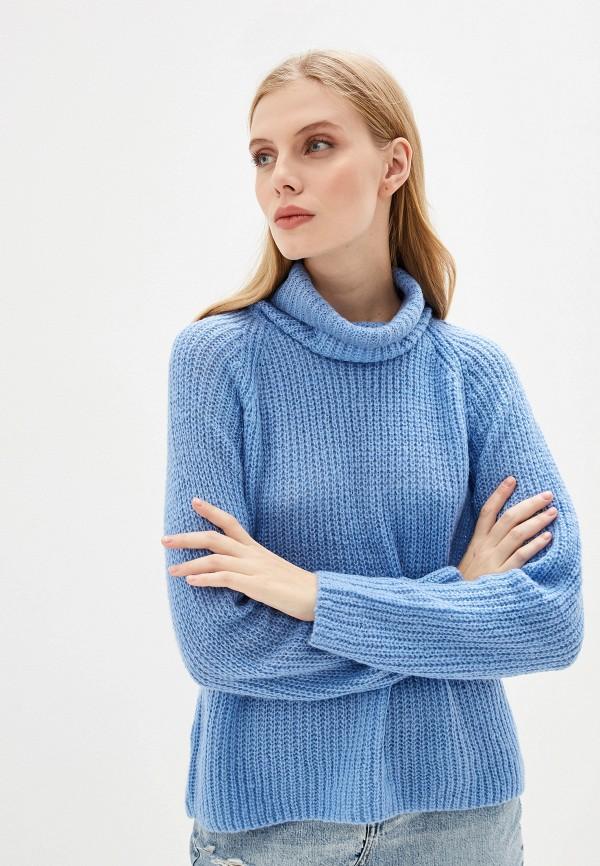 женский свитер brave soul, голубой