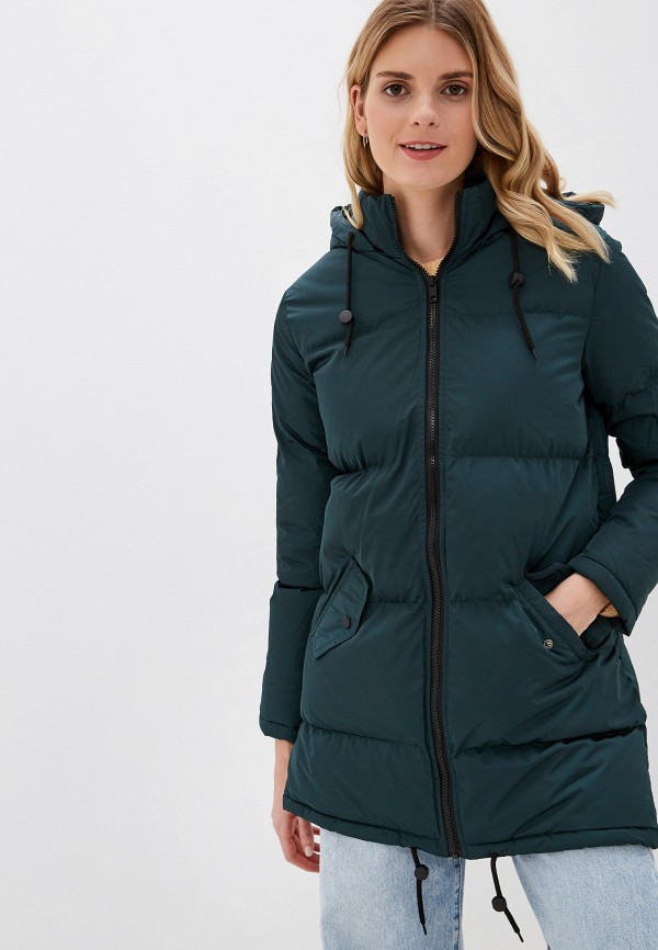 женская куртка brave soul, зеленая