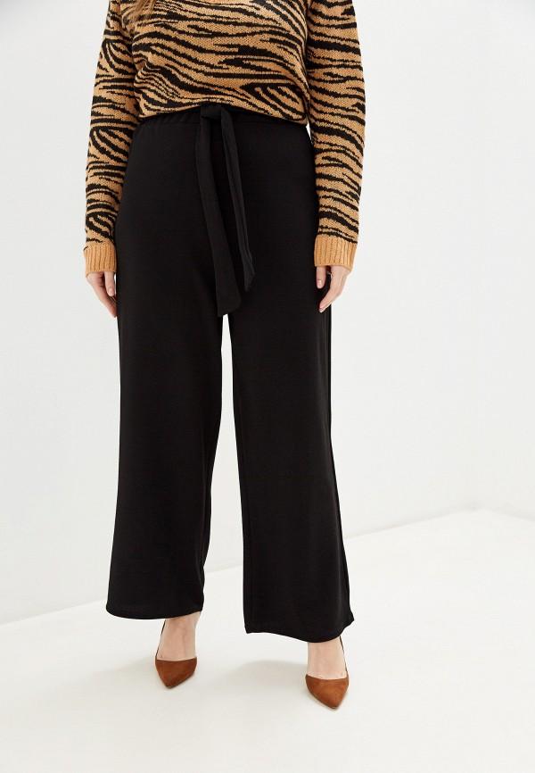 женские прямые брюки brave soul, черные