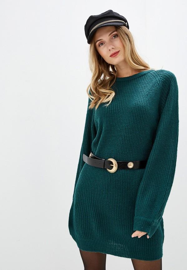 женское платье brave soul, зеленое
