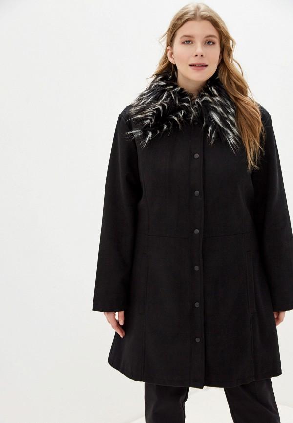 женское пальто brave soul, черное