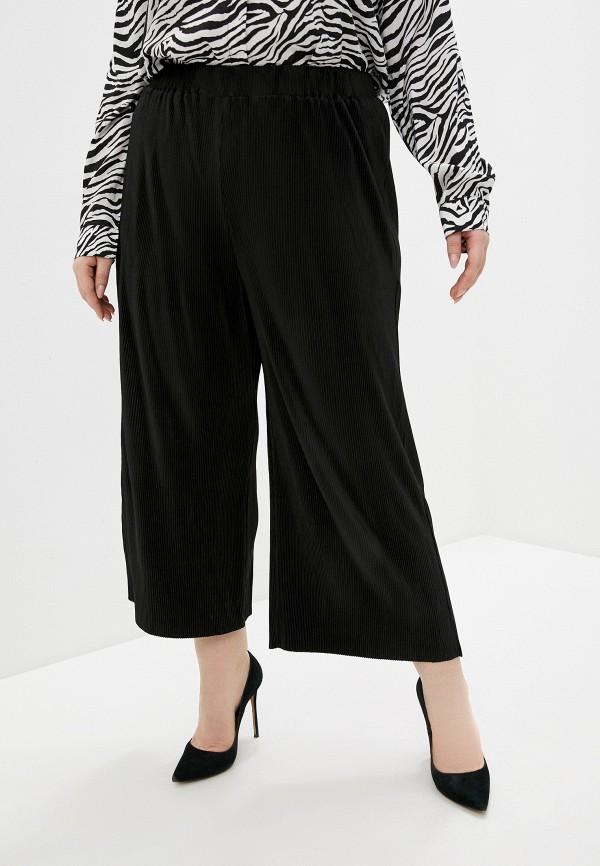 женские брюки клеш brave soul, черные