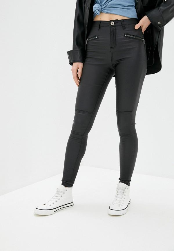 женские повседневные брюки brave soul, черные