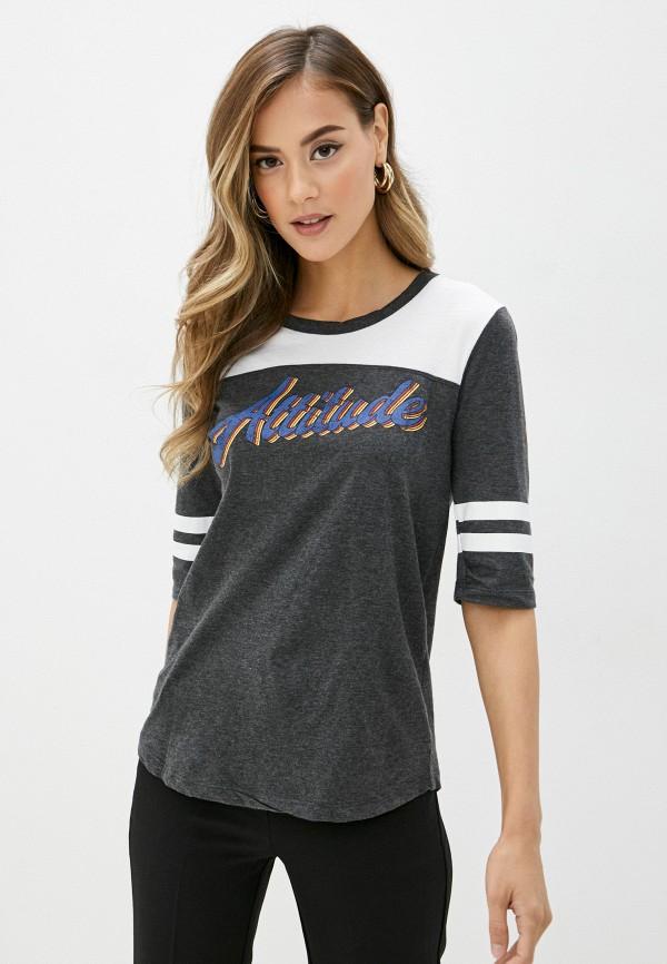 женская футболка brave soul, разноцветная