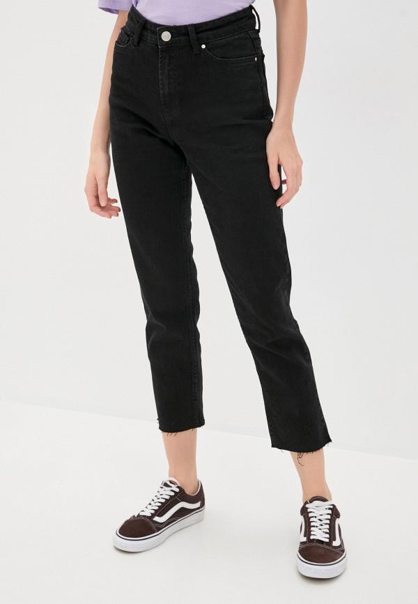 женские джинсы скинни brave soul, черные