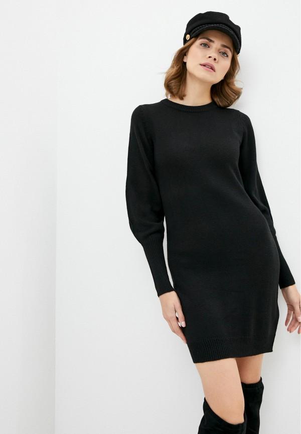 женское платье brave soul, черное