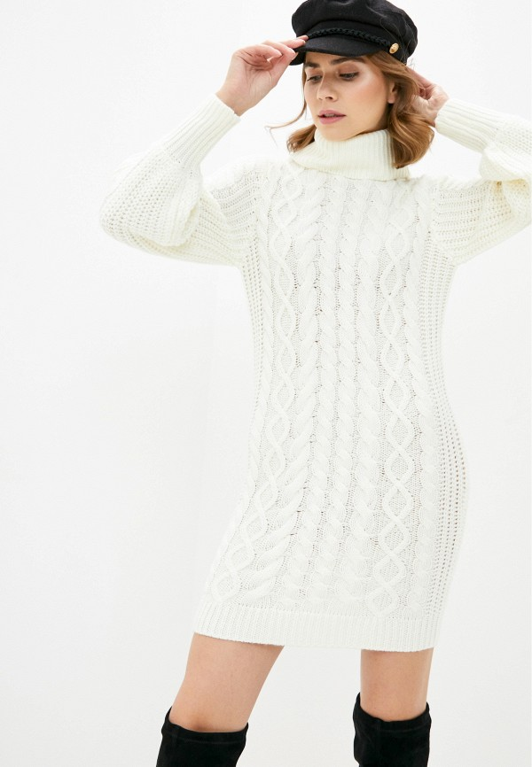 женское платье brave soul, белое