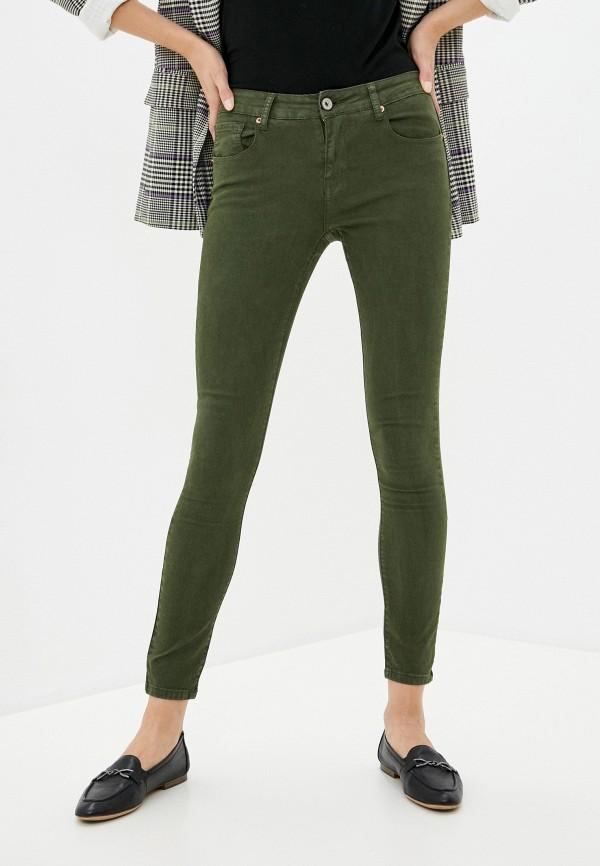 женские повседневные брюки brave soul, хаки