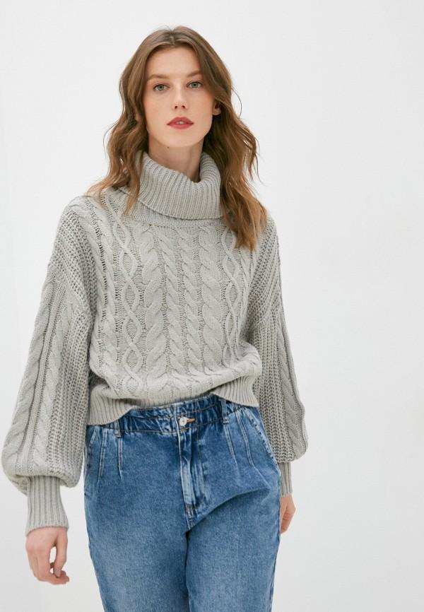 женский свитер brave soul, серый