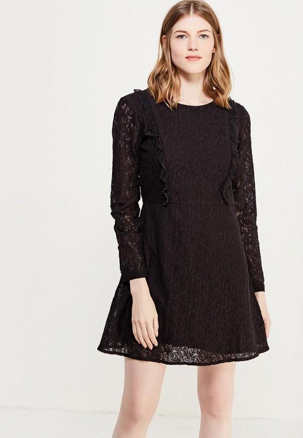 Купить Платье Brave Soul, BR019EWULF46, черный, Осень-зима 2018/2019
