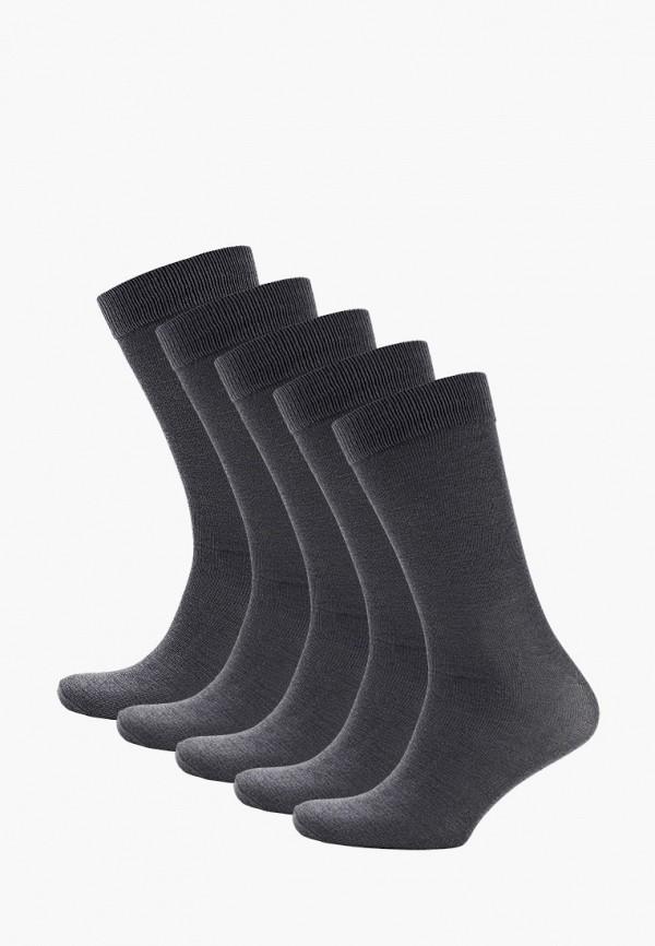 мужские носки brave soul, серые