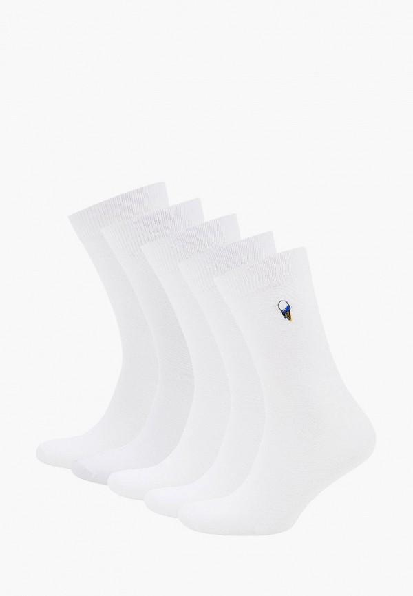 мужские носки brave soul, белые