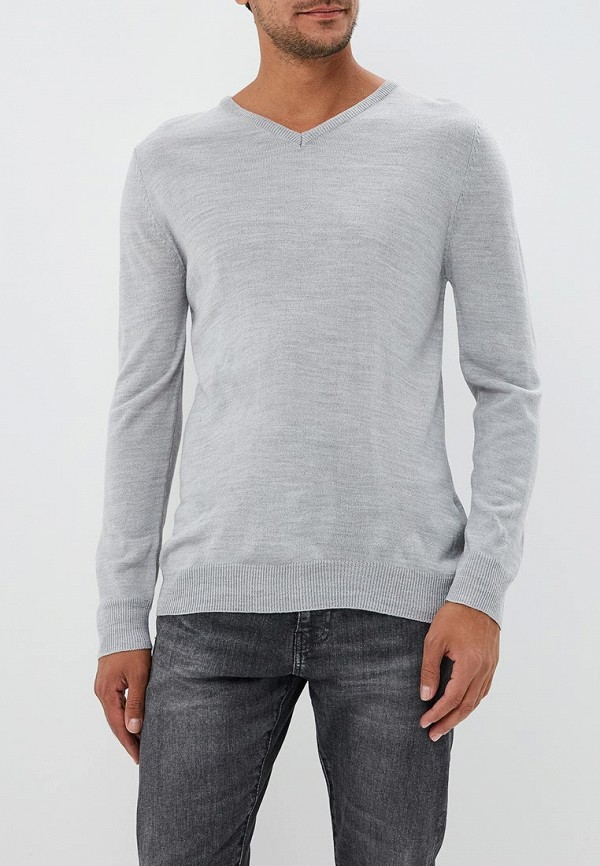 мужской пуловер bruebeck, серый