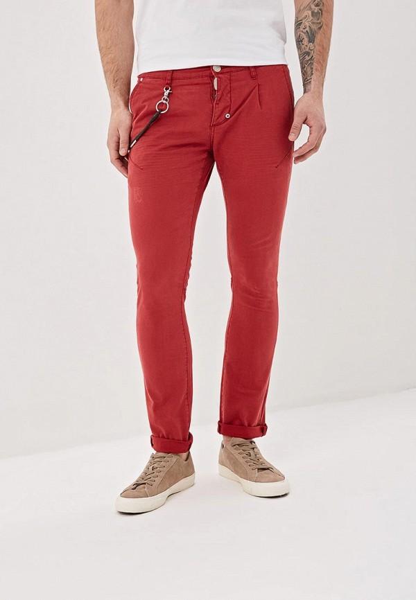 мужские повседневные брюки bruebeck, красные