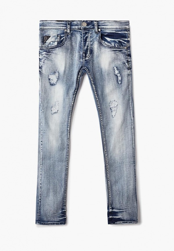 мужские прямые джинсы bruebeck, синие