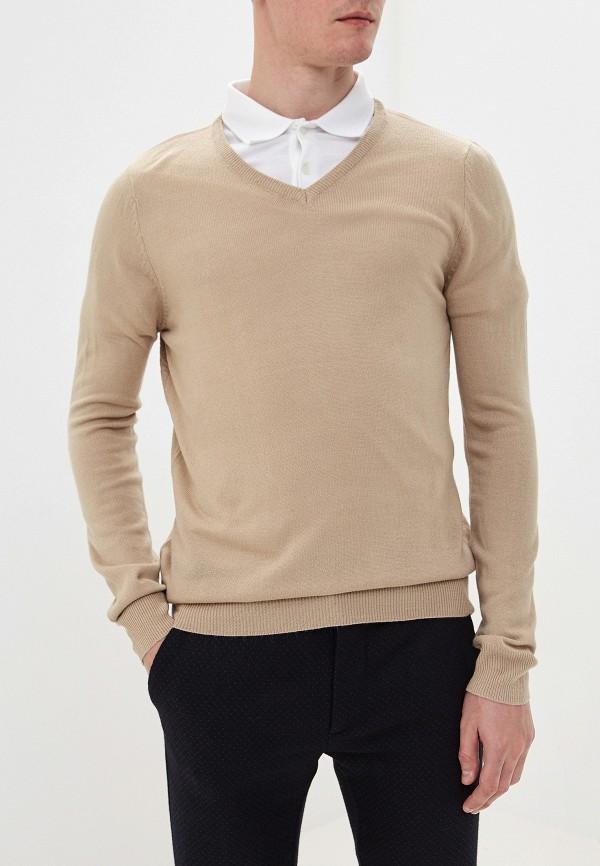 мужской пуловер bruebeck, бежевый