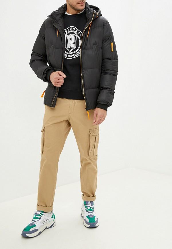 Фото 2 - Куртку утепленная Bruebeck черного цвета