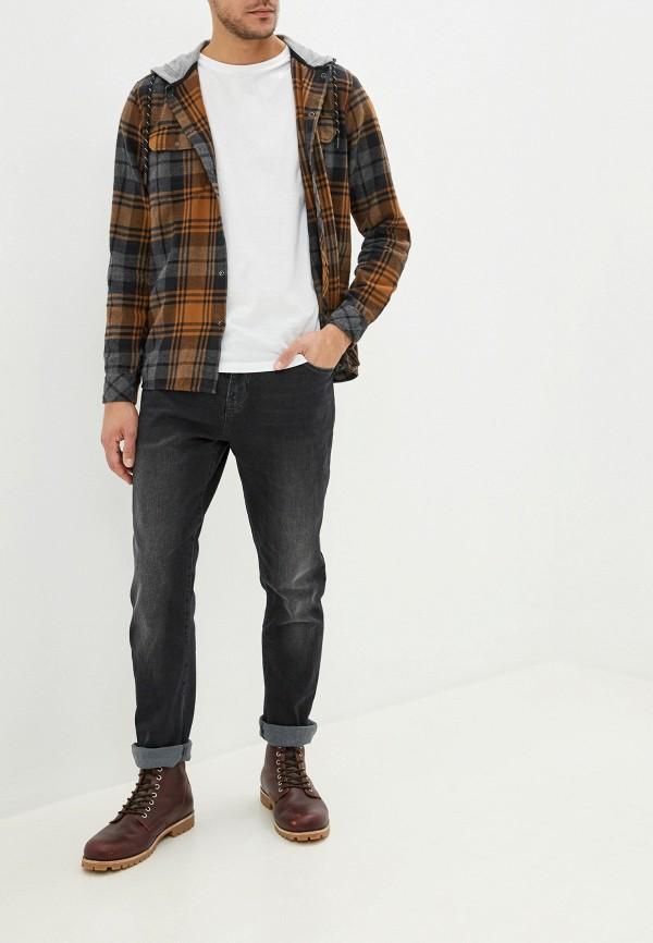 Фото 2 - мужские джинсы Bruebeck серого цвета
