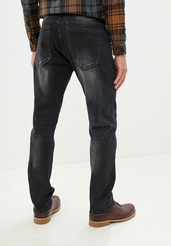 Фото 3 - мужские джинсы Bruebeck серого цвета