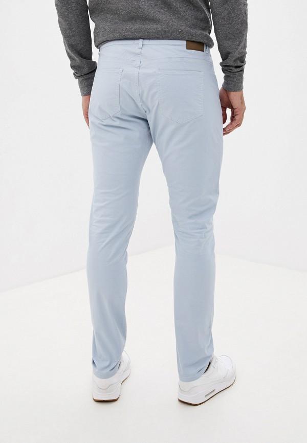 Фото 3 - мужские брюки Bruebeck голубого цвета