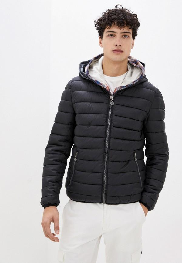 мужская куртка bruebeck, черная