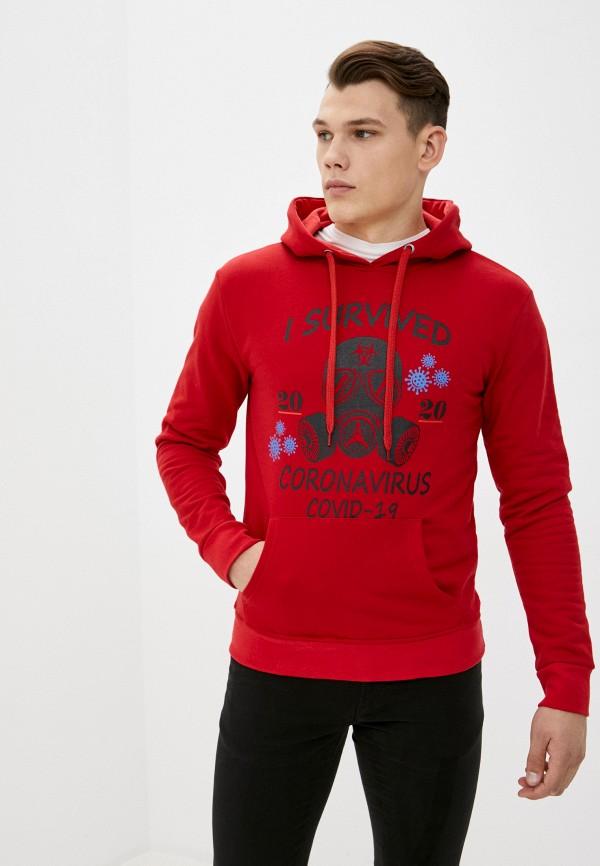 мужские худи bruebeck, красные